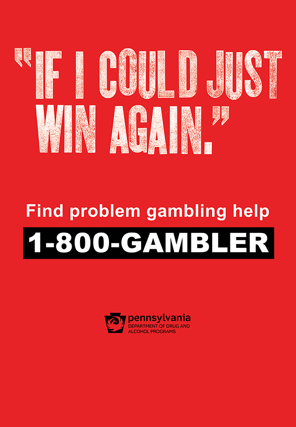 Problem Gambling bus shelter advertisement number 2