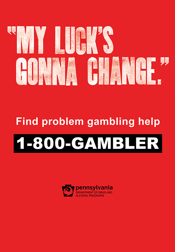 Problem Gambling bus shelter 1